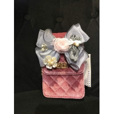 Checkered Purse (Pink)