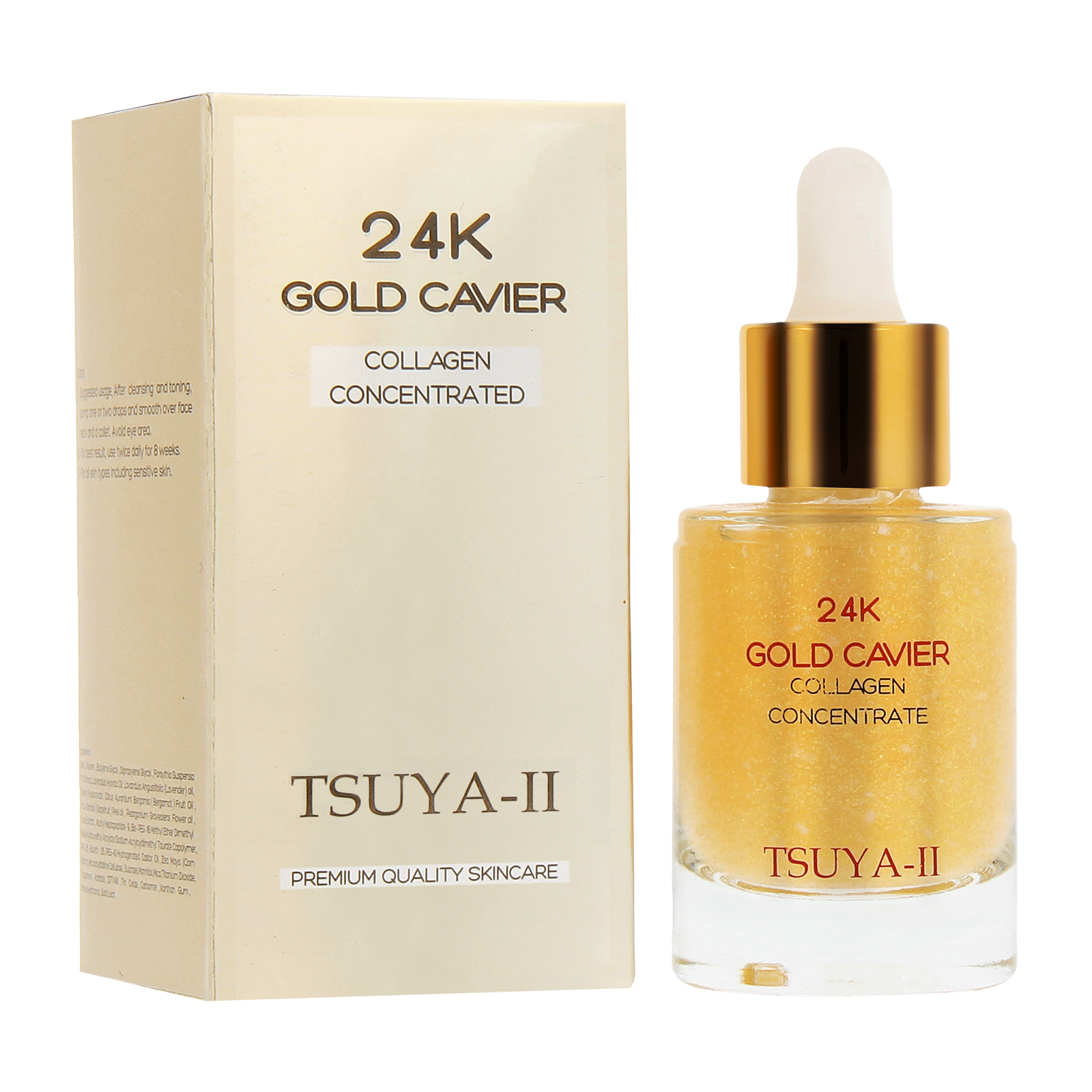 TSUYA -II Gold Cavier Collagen Concentrate
