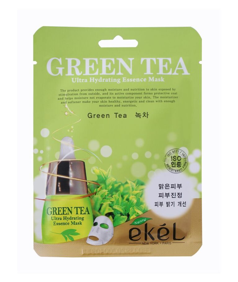 EKEL FACE MASK (GREEN  TEA)